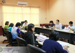 ประชุมคณะกรรมการสนับสนุนการจัดทำแผนพัฒนาเทศบาลตำบลแม่เมาะ ปี 2562