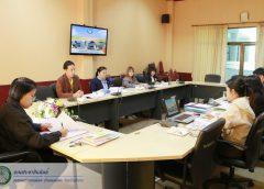 การประชุมคณะกรรมการติดตามและประเมินผลแผนพัฒนาเทศบาลตำบลแม่เมาะ ประจำปีงบประมาณ พ.ศ.๒๕๖๒ (ครั้งที่ ๓ / ๒๕๖๒ )