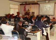 ประชุมเพื่อรับฟังเรื่องชี้แจงการบริหารกลุ่ม พร้อมทั้งหาแนวทางการต่อยอดของกลุ่มเพาะเห็ด